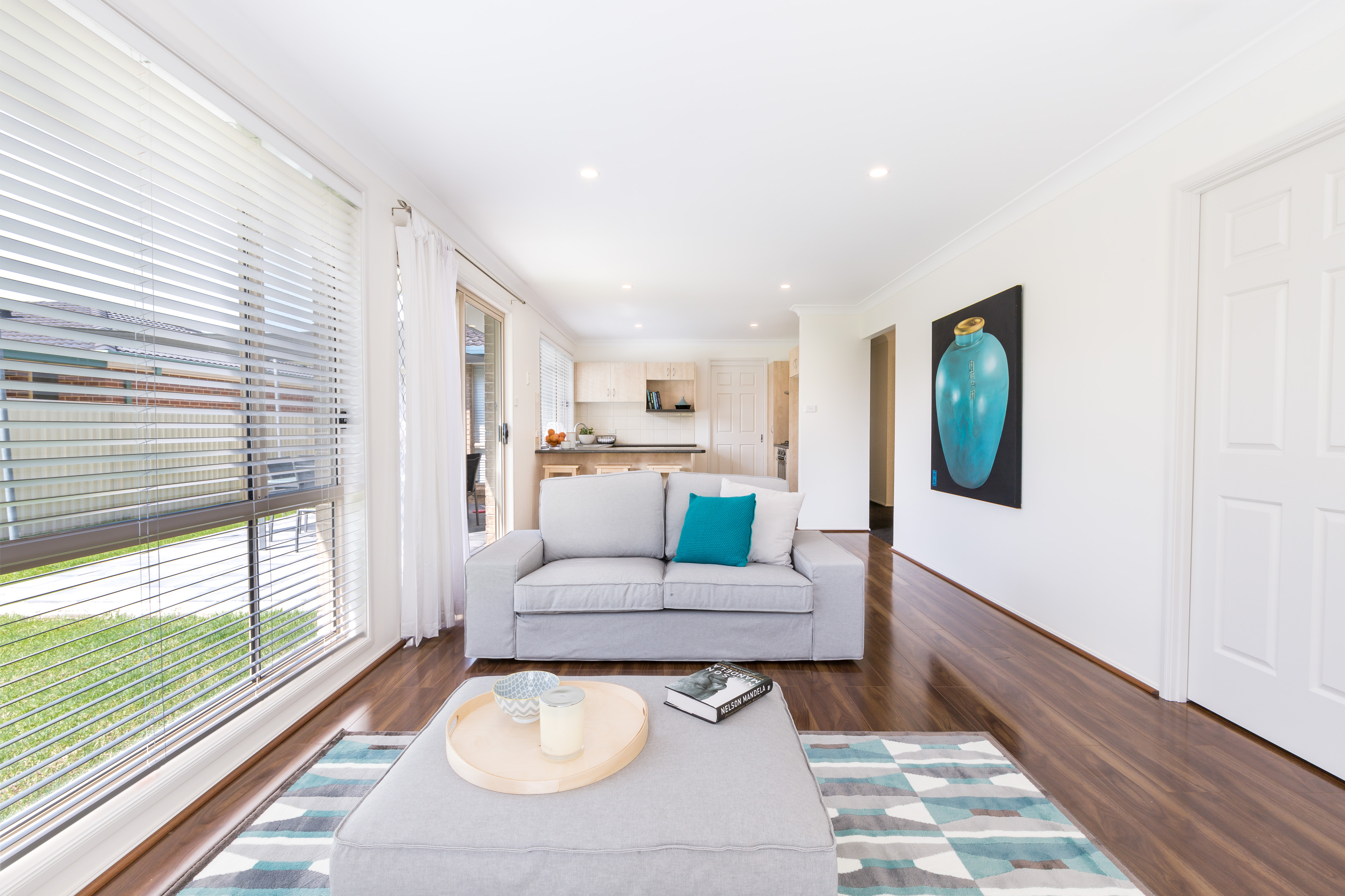 Real estate photography, Living Area of Tuggerah 4 Bedroom house