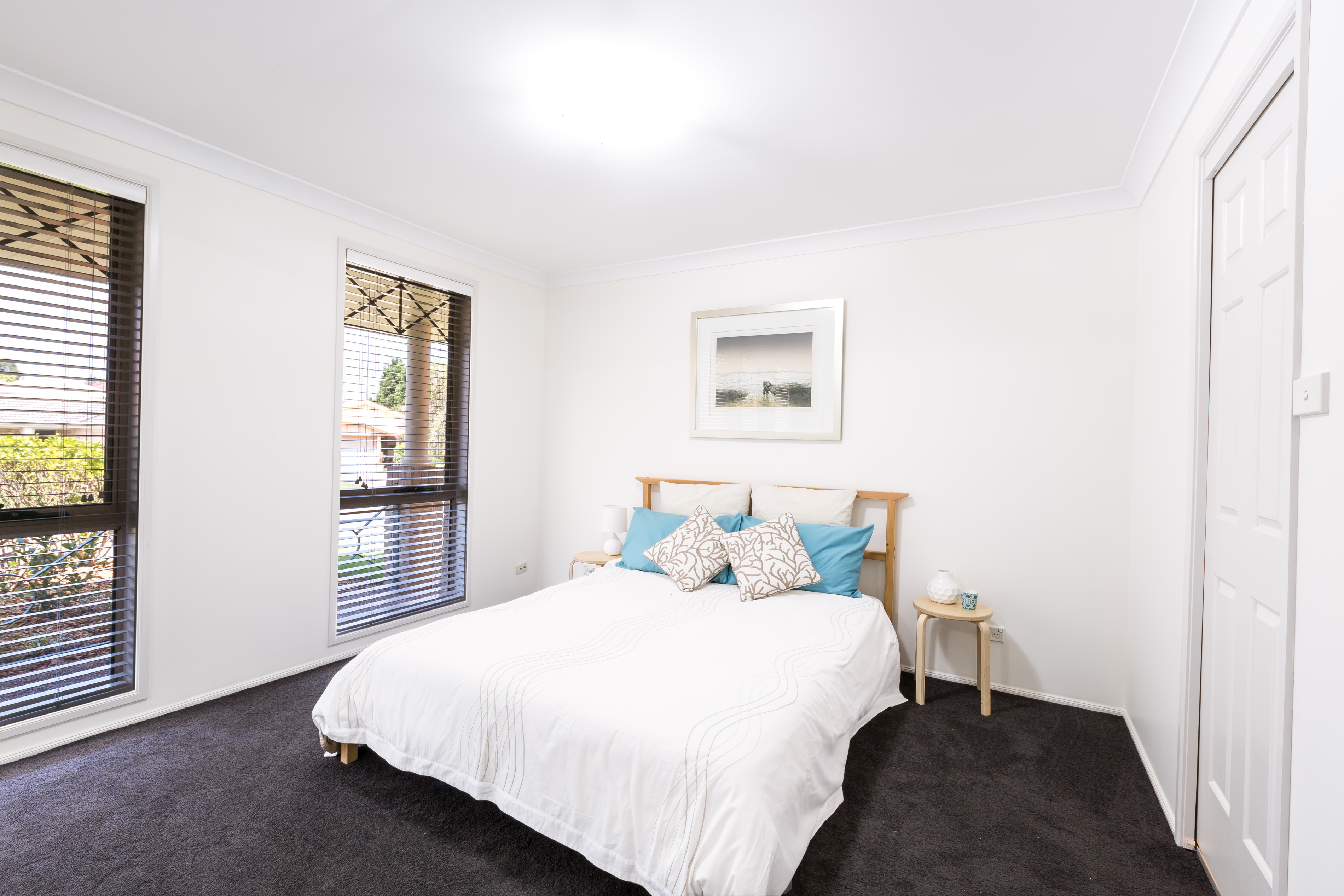 Real estate photography, Master Bedroom of Tuggerah 4 Bedroom house