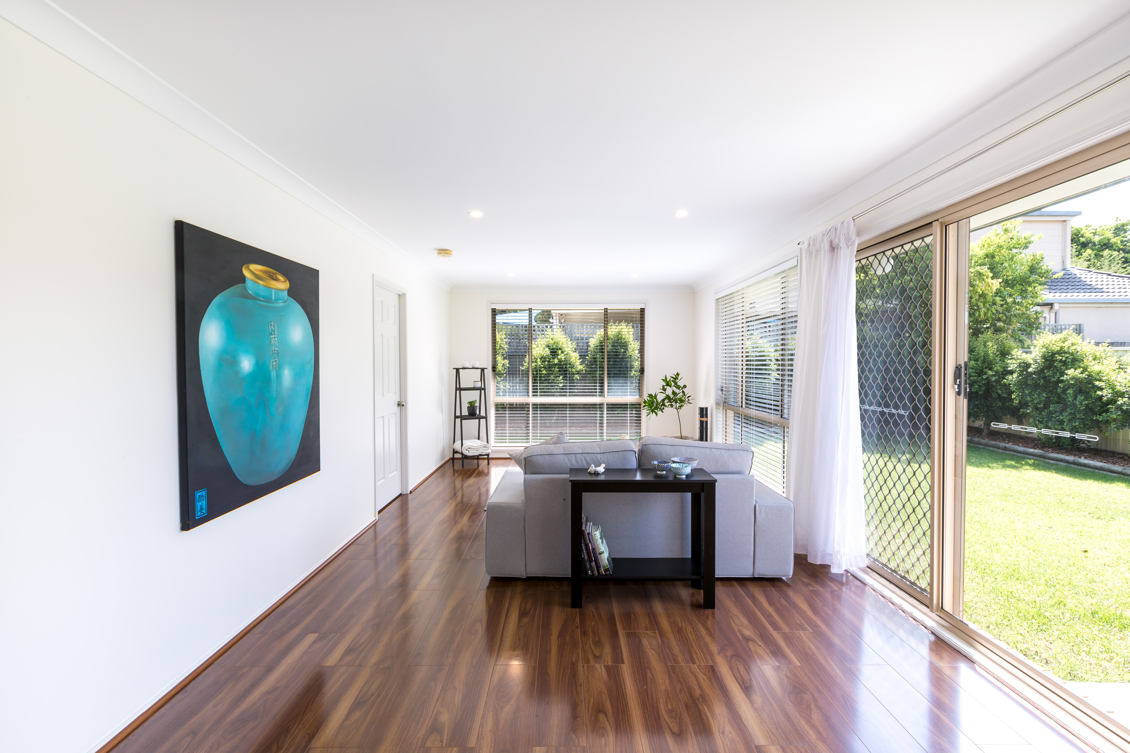 Real estate photography, Living room of Tuggerah 4 Bedroom house