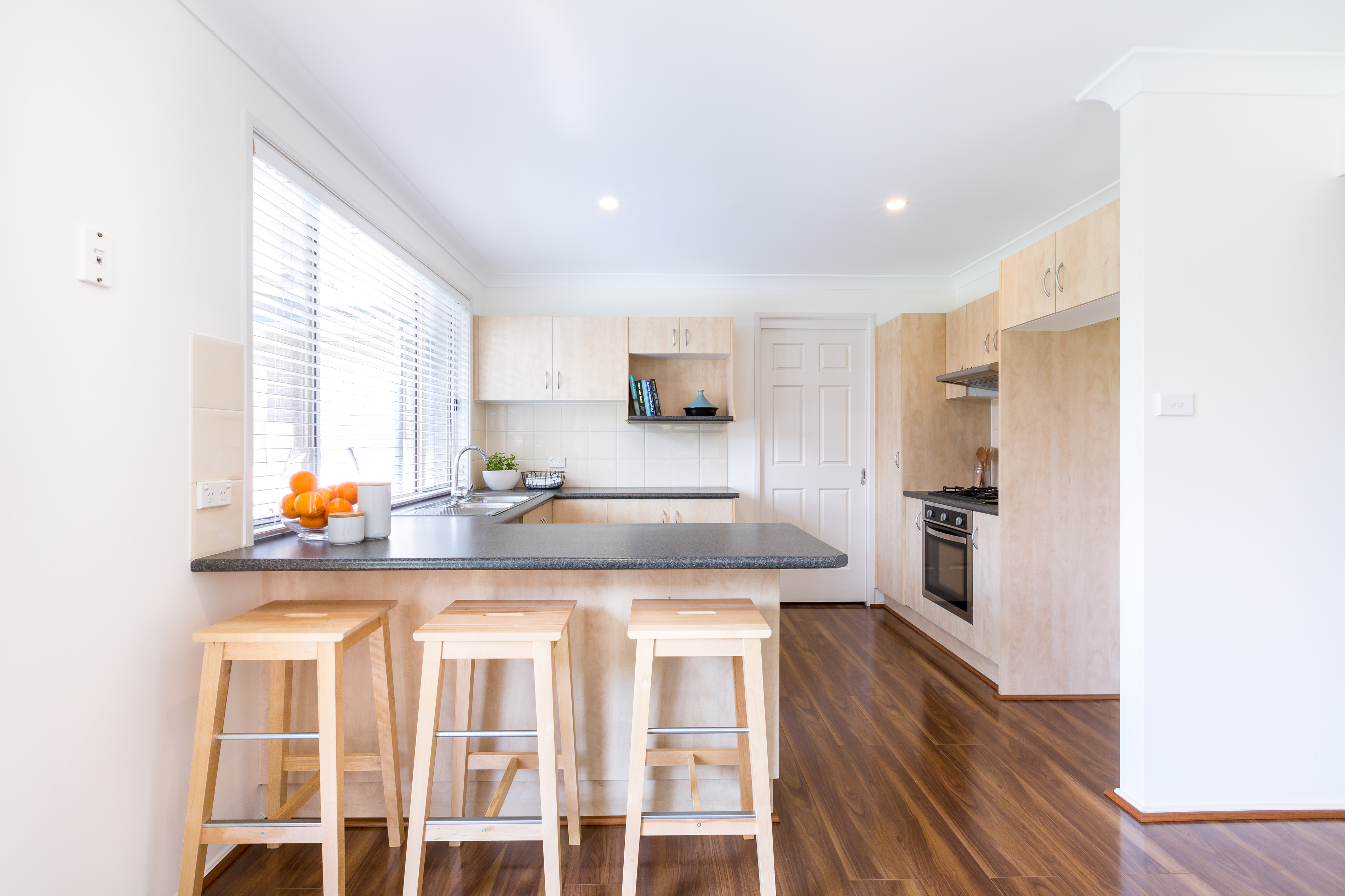 Real estate photography, Kitchen of Tuggerah 4 Bedroom house