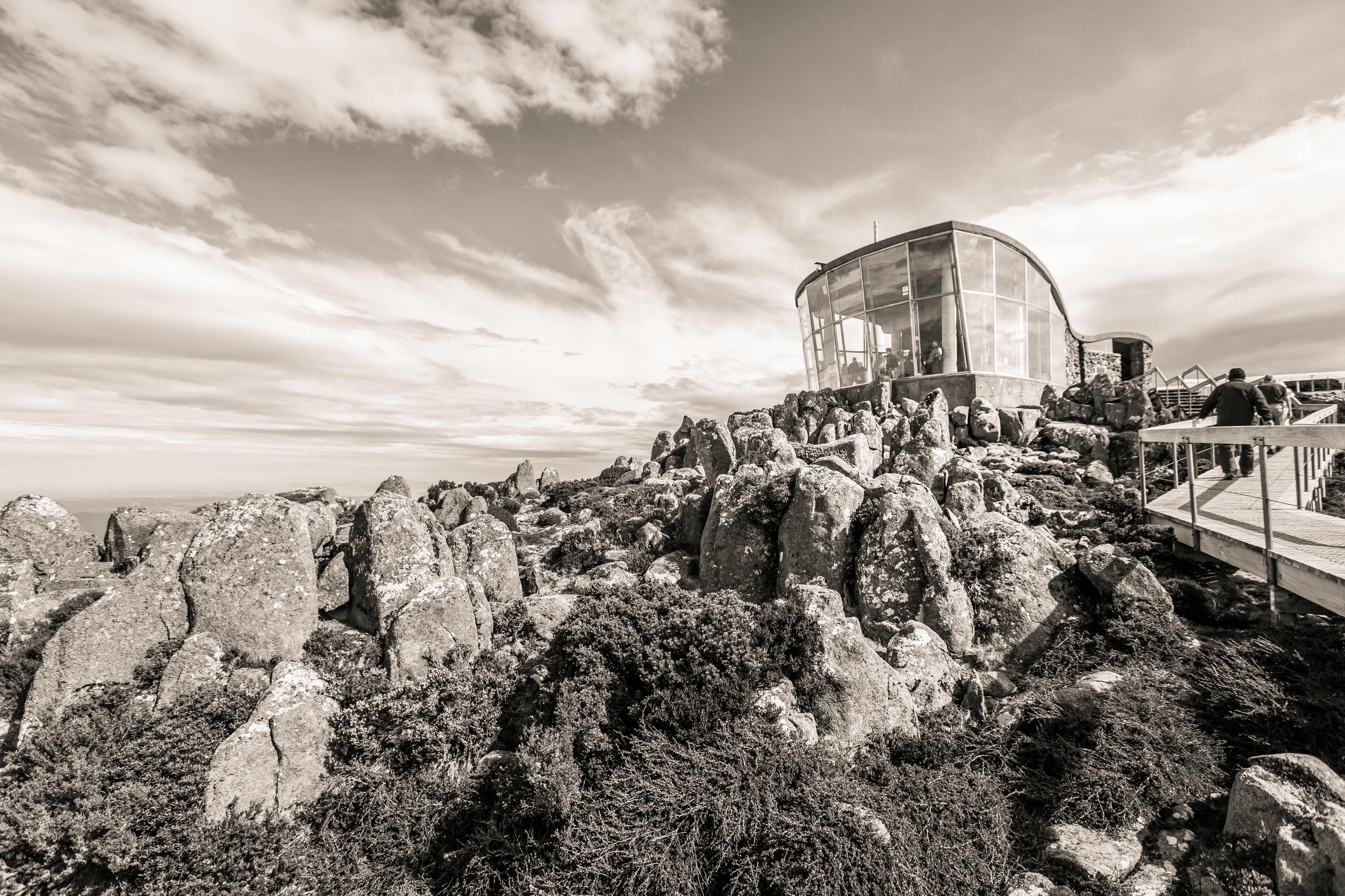 Travel photography in Tasmania - Mt Wellington