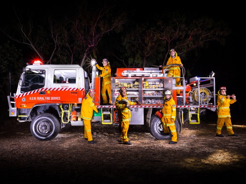 Berowra RFS Brigade & Tanker - Emergency Service Vehicle Photography