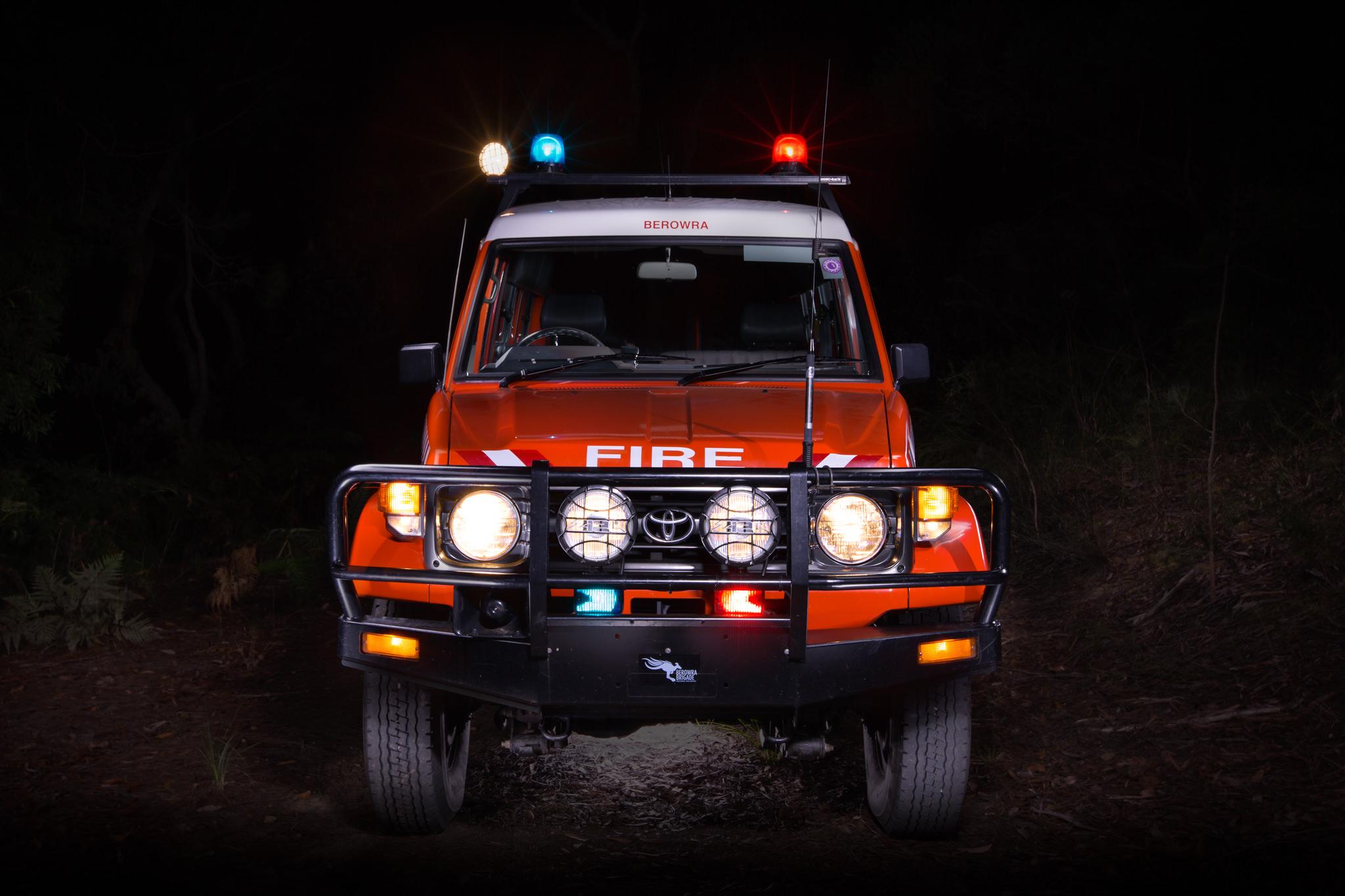 Berowra RFS Land Cruiser - Emergency Service Vehicle Photography
