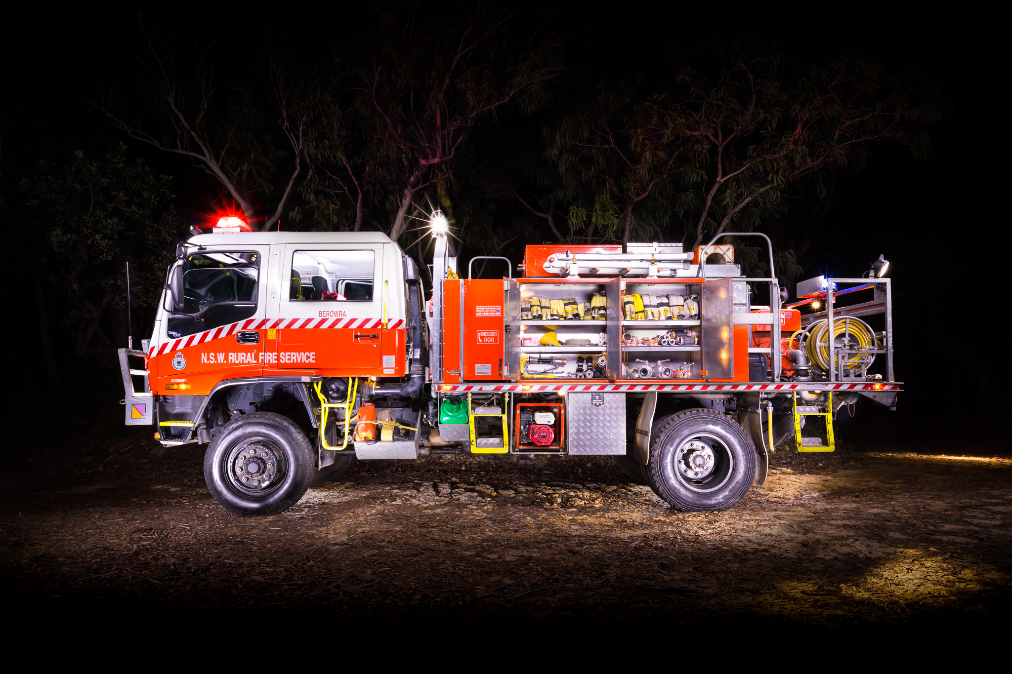 Berowra RFS Tanker - Emergency Service Vehicle Photography