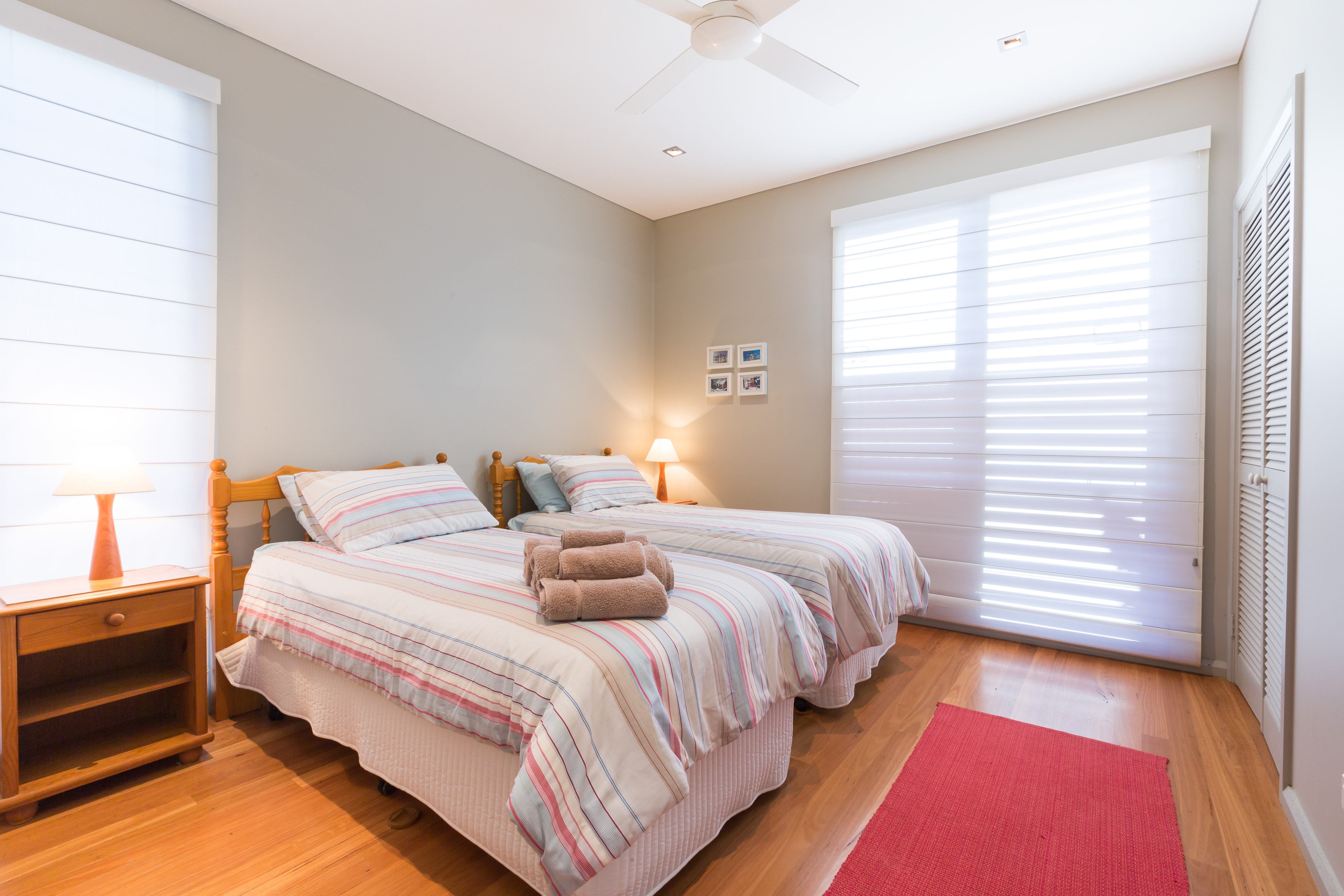 Black Diamond Beach House Guest Bedroom, Real Estate Photography
