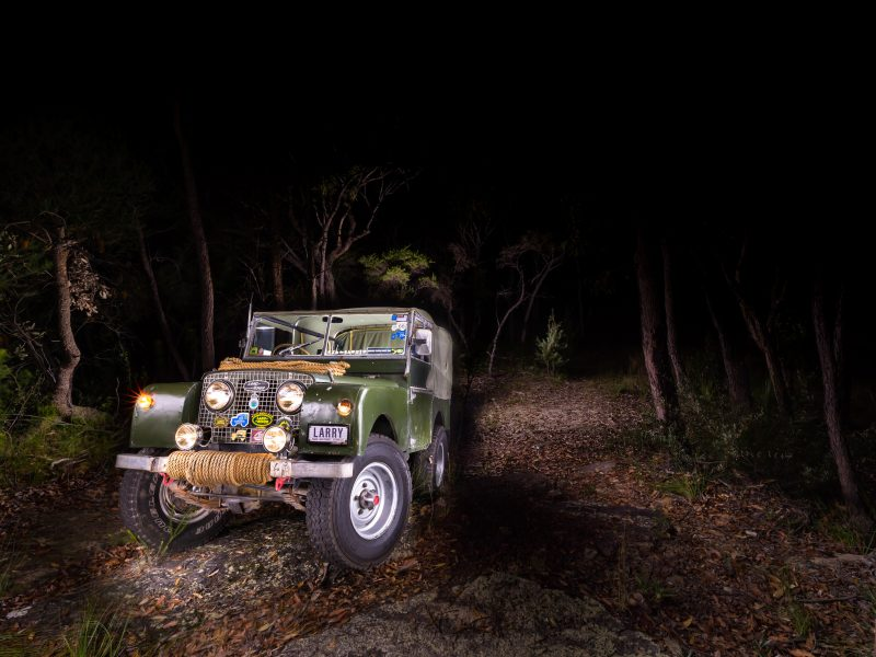 1951 Series 1 Land Rover - Classic Car Photography