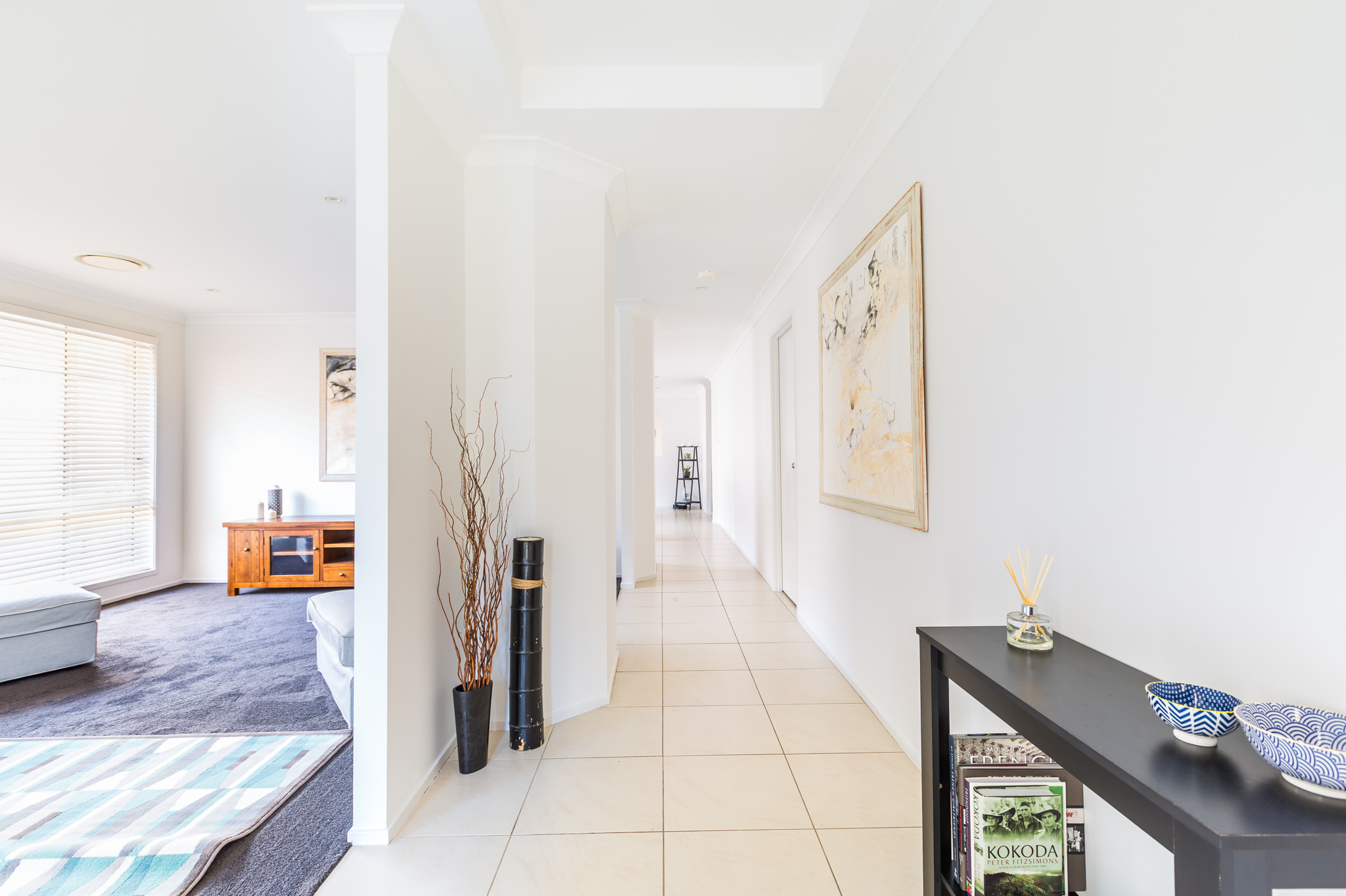 Spacious Open Hallway – Central Coast Real Estate Photography