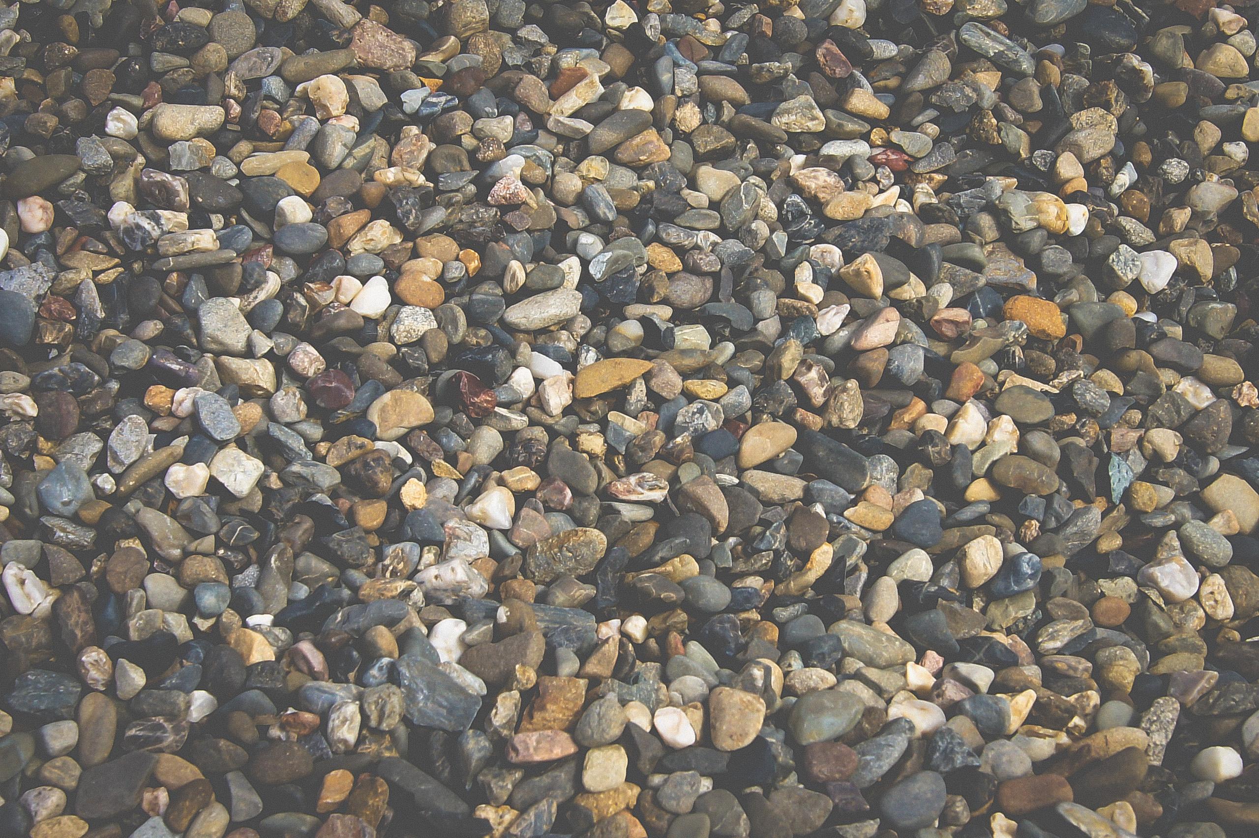 Grey River Pebble 10mm Closeup Landscape Supply Photography