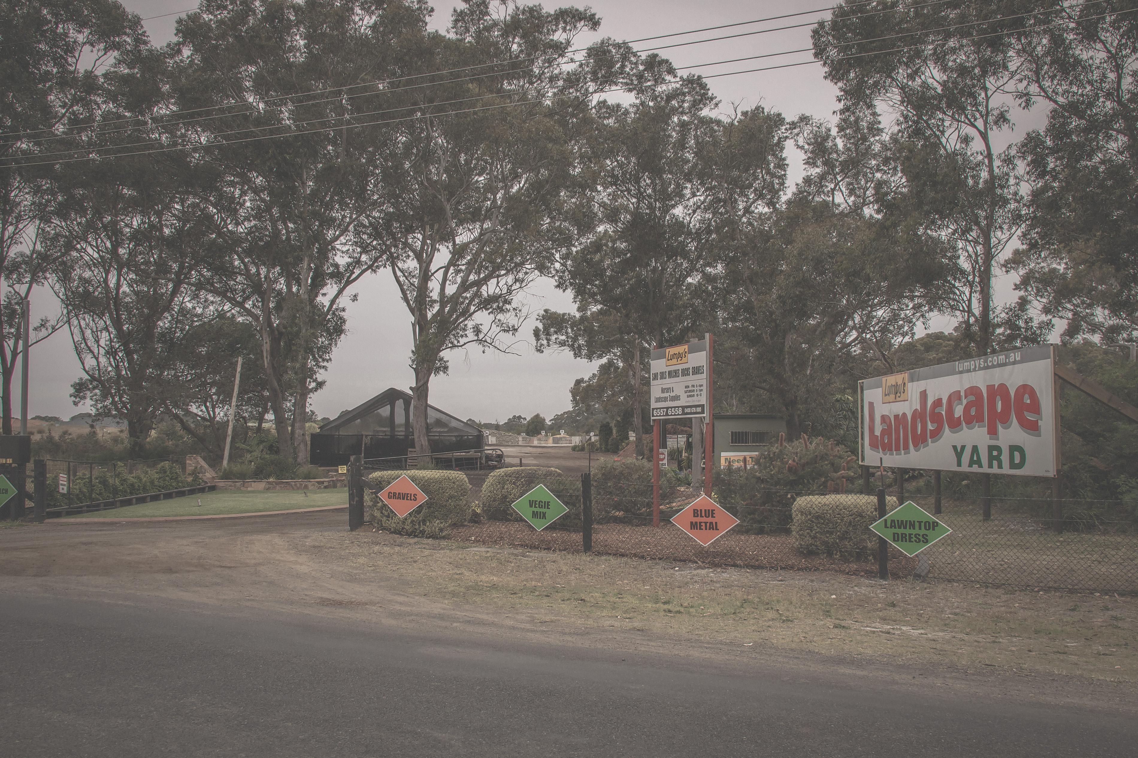 Lumpy's Landscape Supply Yard