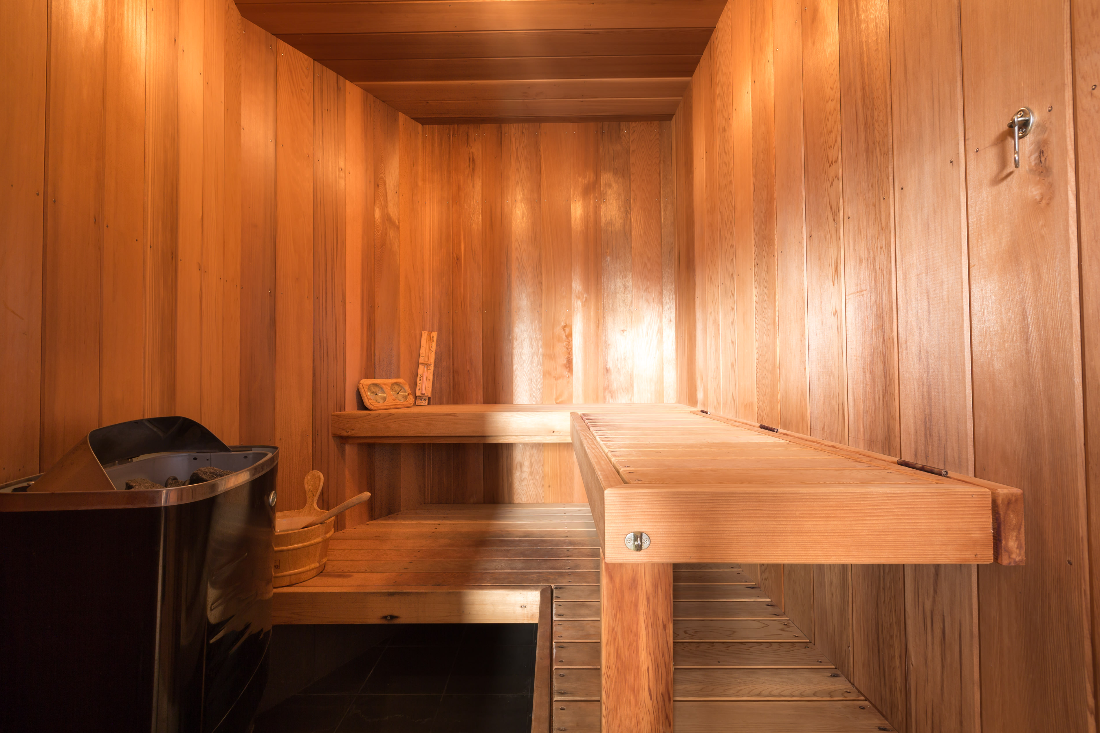 Sauna in Black Diamond Beach House, Real Estate Photography